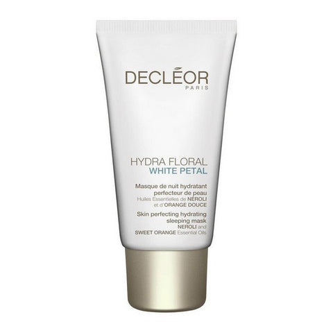 Moisturising Overnight Mask Hydra Floral White Petal Decleor (50 ml)-Universal Store London™