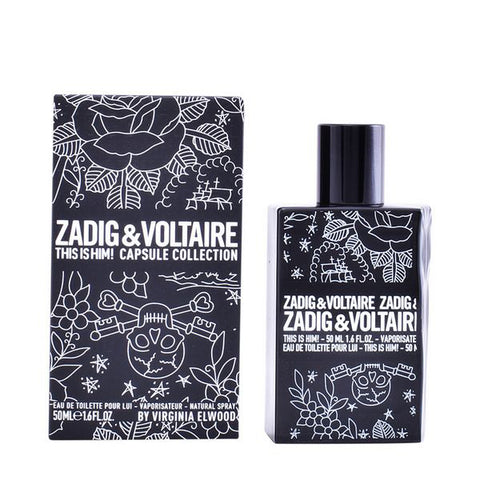 Image of Men's Perfume This Is Him! Capsule Collection Zadig & Voltaire EDT (50 ml)-Universal Store London™