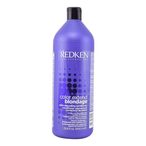 Colour Protecting Conditioner Color Extend Blondage Redken (1000 ml)-Universal Store London™