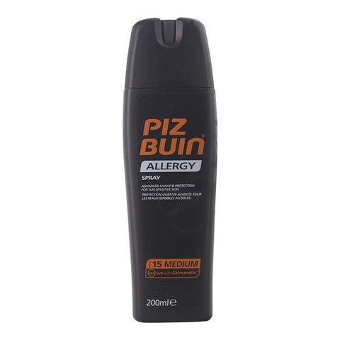 Image of Spray Sun Protector Allergy Piz Buin Spf 15 (200 ml)-Universal Store London™