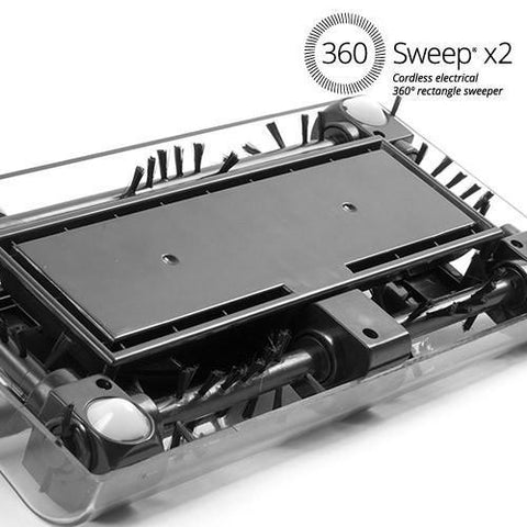 Image of 360 Sweep Rectangular Electric Sweeper-Universal Store London™