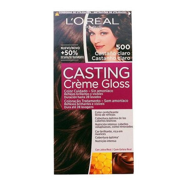 Dye No Ammonia Casting Creme Gloss L'Oreal Expert Professionnel Light brown-Universal Store London™