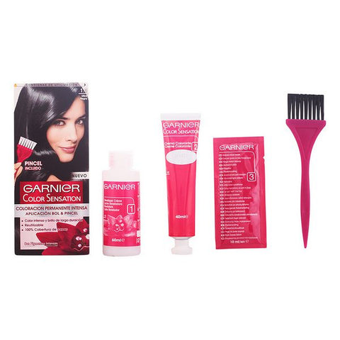 Permanent Dye Color Sensation N1 Garnier-Universal Store London™
