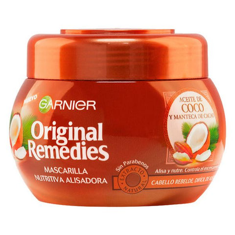 Nourishing Hair Mask Alisadora Aceite De Coco Original Remedies Fructis (300 ml)
