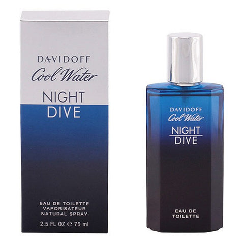 Image of Men's Perfume Cool Water Night Dive Davidoff EDT-Universal Store London™