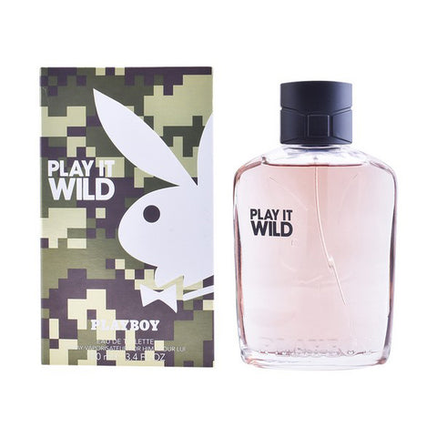 Image of Men's Perfume Play It Wild Men Playboy EDT (100 ml)-Universal Store London™