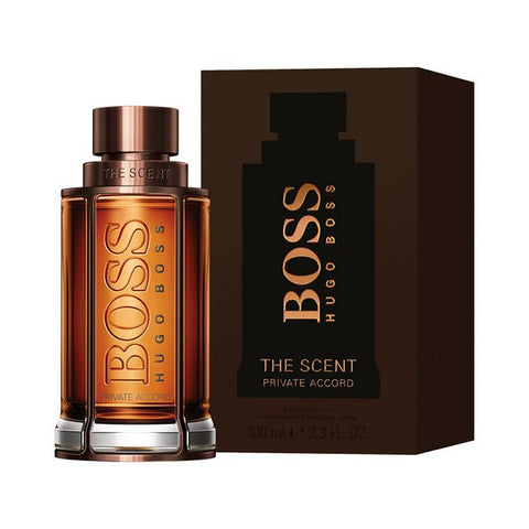 Men's Perfume The Scent Private Accord Hugo Boss EDT (100 ml)-Universal Store London™