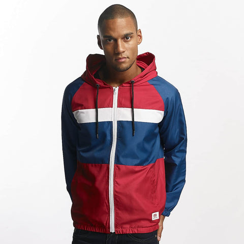 Ecko Unltd. / Lightweight Jacket Windbreaker CapSkirring in red-Universal Store London™