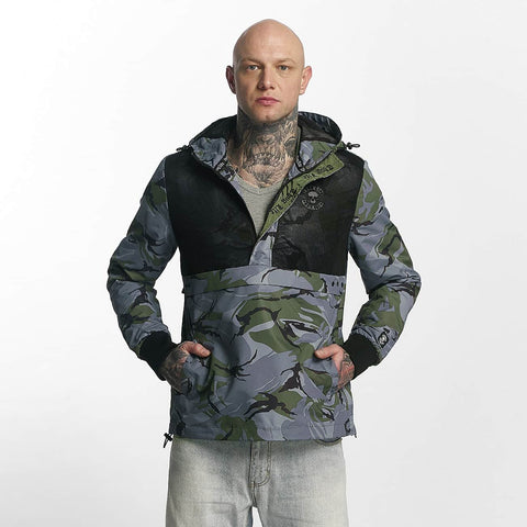 Thug Life / Lightweight Jacket Skin in black-Universal Store London™