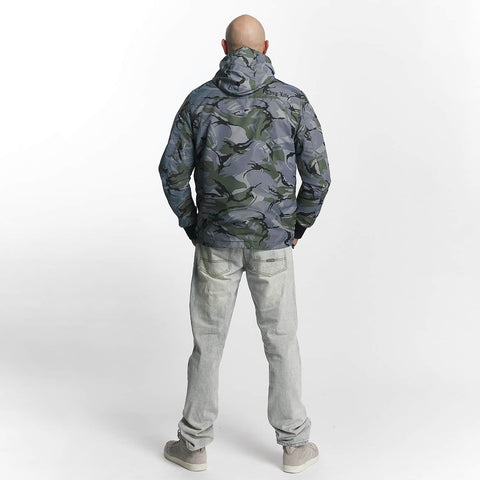 Thug Life / Lightweight Jacket Threat in grey-Universal Store London™
