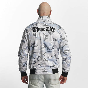 Thug Life / Lightweight Jacket Wired in white