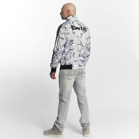 Thug Life / Lightweight Jacket Wired in white-Universal Store London™