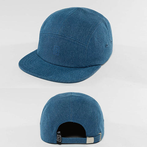 Cyprime / 5 Panel Caps Strapback in blue