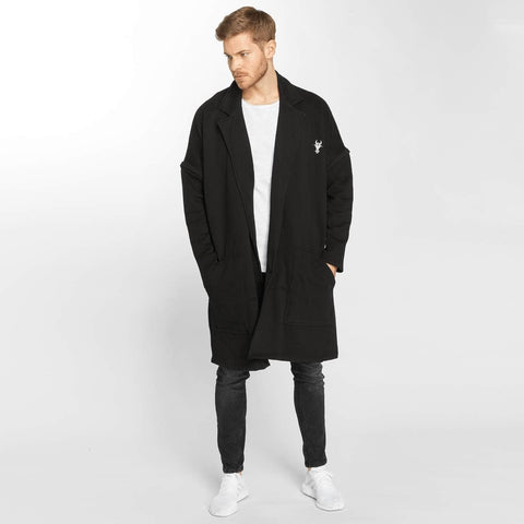 Cavallo de Ferro / Coats Coat in black-Universal Store London™