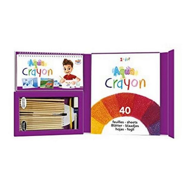 Set of colouring and watercolour pencils Buki 22499 Aqua Crayon (OpenBox)-Universal Store London™