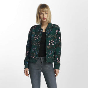 Cyprime / Bomber jacket Tiger`s Eye in green-Universal Store London™