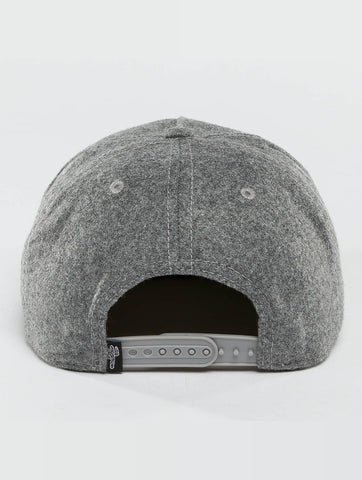 Just Rhyse / Snapback Cap Fairhaven in grey-Universal Store London™