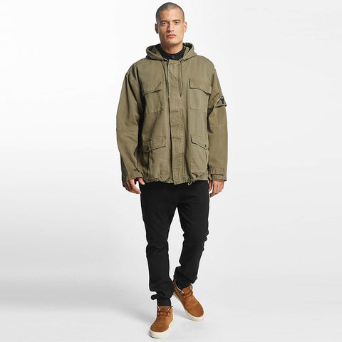 Cavallo de Ferro / Lightweight Jacket Oversized in olive-Universal Store London™