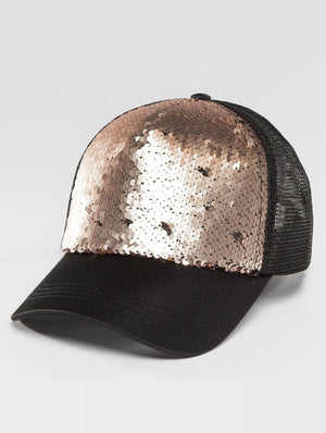 Bangastic / Trucker Cap Glam in black-Universal Store London™