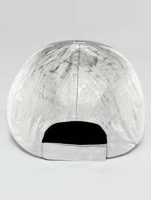 Bangastic / Snapback Cap Shiny in silver colored