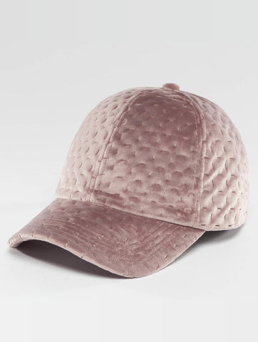 Image of Bangastic / Snapback Cap Velvet in rose-Universal Store London™