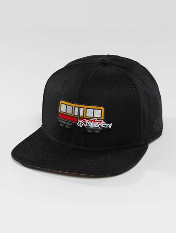 Image of Dangerous DNGRS / Snapback Cap Trainz in black-Universal Store London™