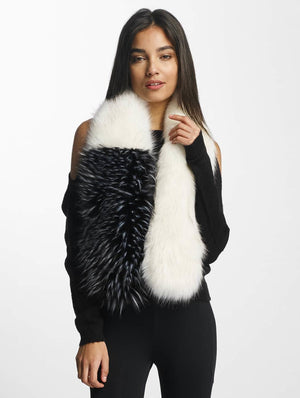 Bangastic / Scarve Fake Fur in white-Universal Store London™