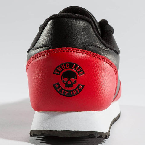 Thug Life / Sneakers 187 in red-Universal Store London™