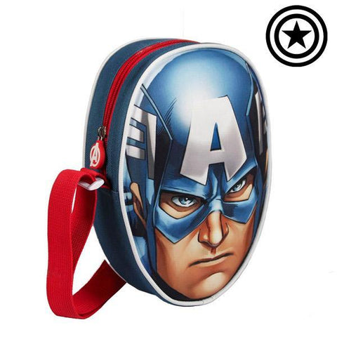 3D Captain America Backpack (Avengers)-Universal Store London™