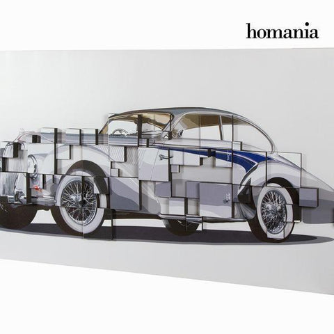 Image of 3d gray car painting by Homania-Universal Store London™