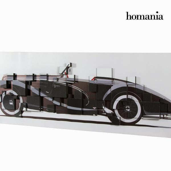 3d painting black convertible by Homania-Universal Store London™