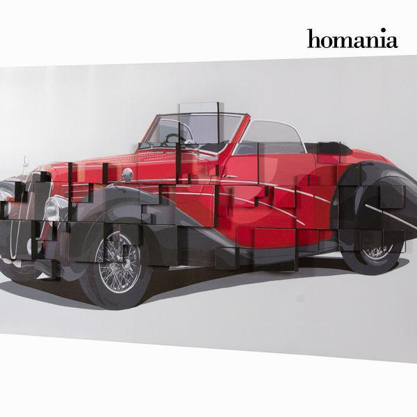 3d painting red car by Homania-Universal Store London™