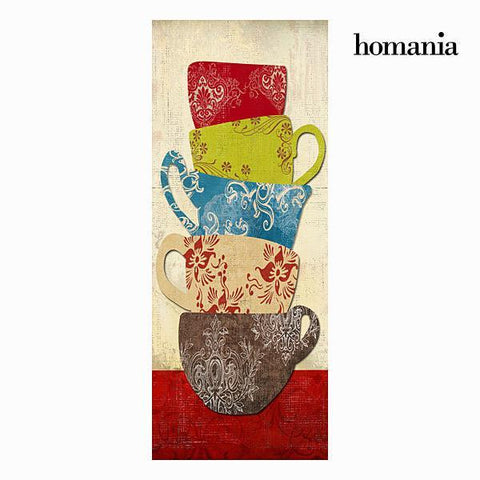 Image of 4 cups canvas frame by Homania-Universal Store London™