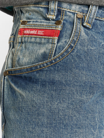 Image of Ecko Unltd. / Straight Fit Jeans Bour Bonstreet in blue-Universal Store London™