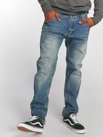 Ecko Unltd. / Straight Fit Jeans Bour Bonstreet in blue-Universal Store London™