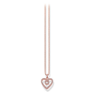 Ladies' Pendant Thomas Sabo KE1416-416-14 (42 cm)-Universal Store London™