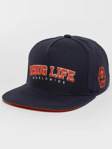 Image of Thug Life / Snapback Cap Blazer in blue-Universal Store London™