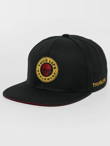 Image of Thug Life / Snapback Cap Kvartas in black-Universal Store London™