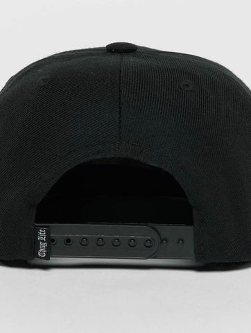 Image of Thug Life / Snapback Cap Kvartas in black