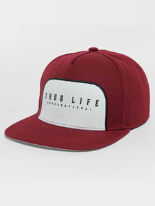 Thug Life / Snapback Cap Avantgarde in red-Universal Store London™