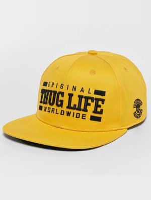 Thug Life / Snapback Cap Anaconda in yellow-Universal Store London™