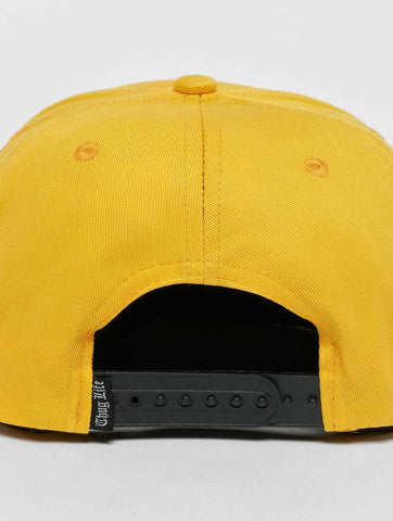 Image of Thug Life / Snapback Cap Anaconda in yellow-Universal Store London™