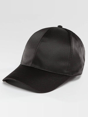 Bangastic / Snapback Cap Satin in black-Universal Store London™