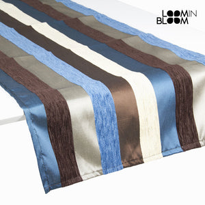 Motegi table runner blue - Colored Lines Collection by Loom In Bloom-Universal Store London™