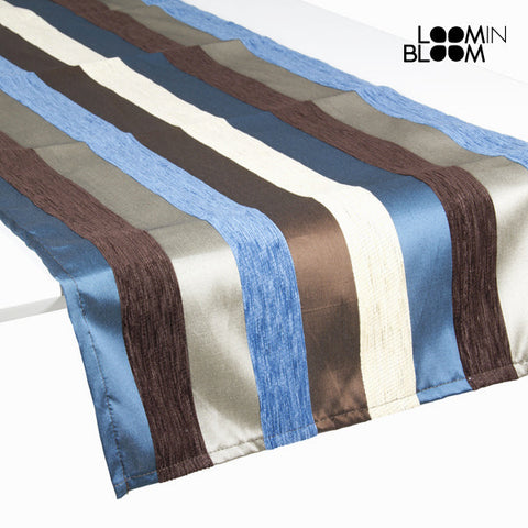 Image of Table Runner Blue (135 x 40 cm) - Colored Lines Collection by Loom In Bloom-Universal Store London™