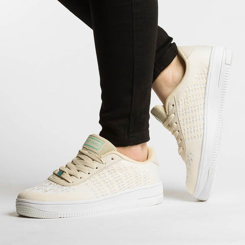 Just Rhyse / Sneakers Light Leaf in beige-Universal Store London™