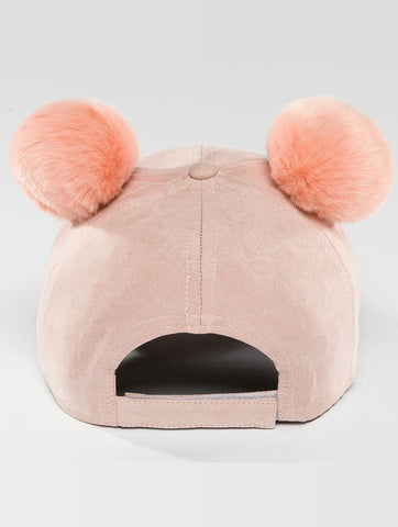 Bangastic / Snapback Cap Teddy in pink-Universal Store London™