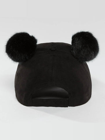 Bangastic / Snapback Cap Teddy in black-Universal Store London™
