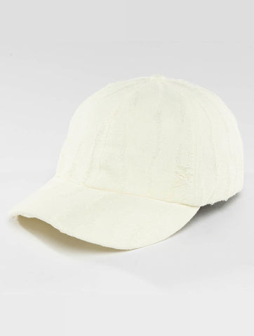 Image of Bangastic / Snapback Cap destroyed in white-Universal Store London™
