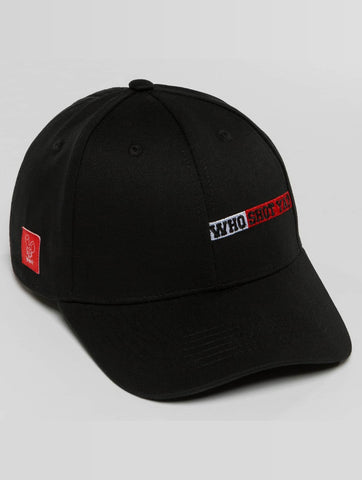 Who Shot Ya? / Snapback Cap Lucid Style in black-Universal Store London™